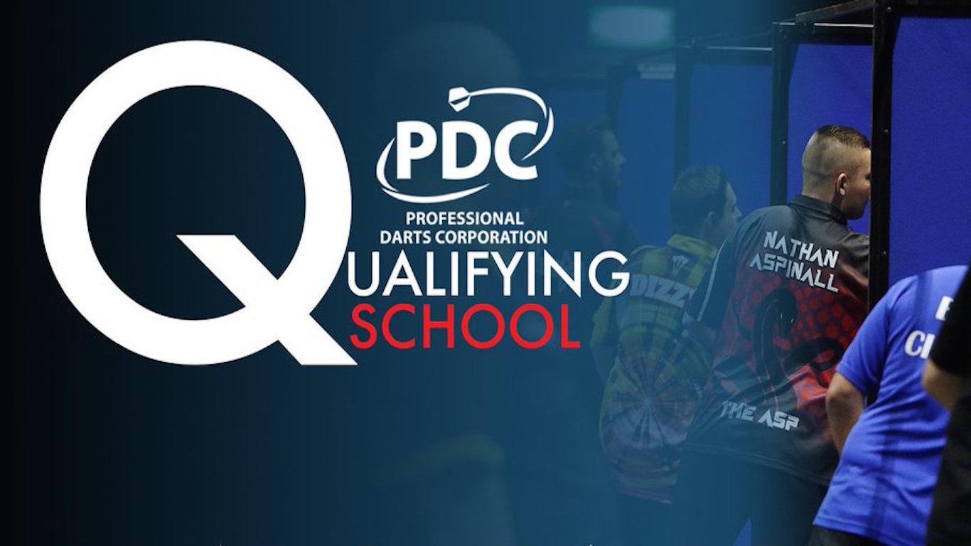 Resultado de imagen de q school darts pdc 2018